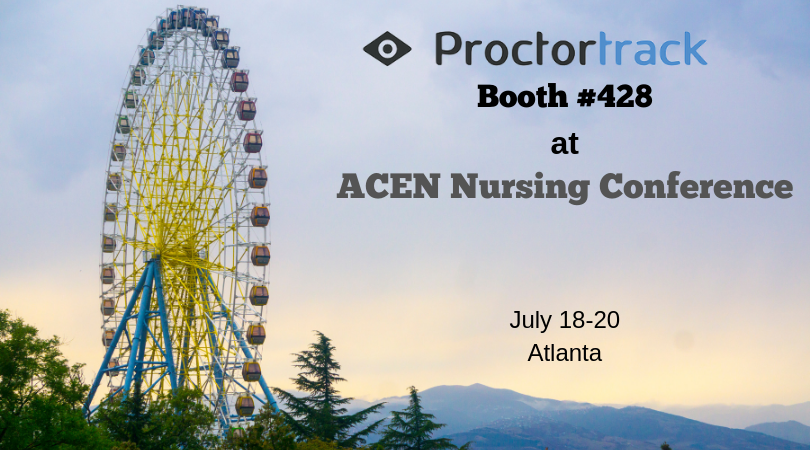 Proctortrack showcasing at ACEN Nursing Education Accreditation Conference 2019