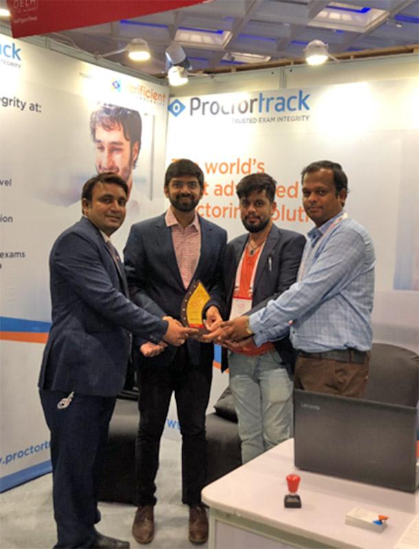 Proctortrack gets a head start at WES Delhi