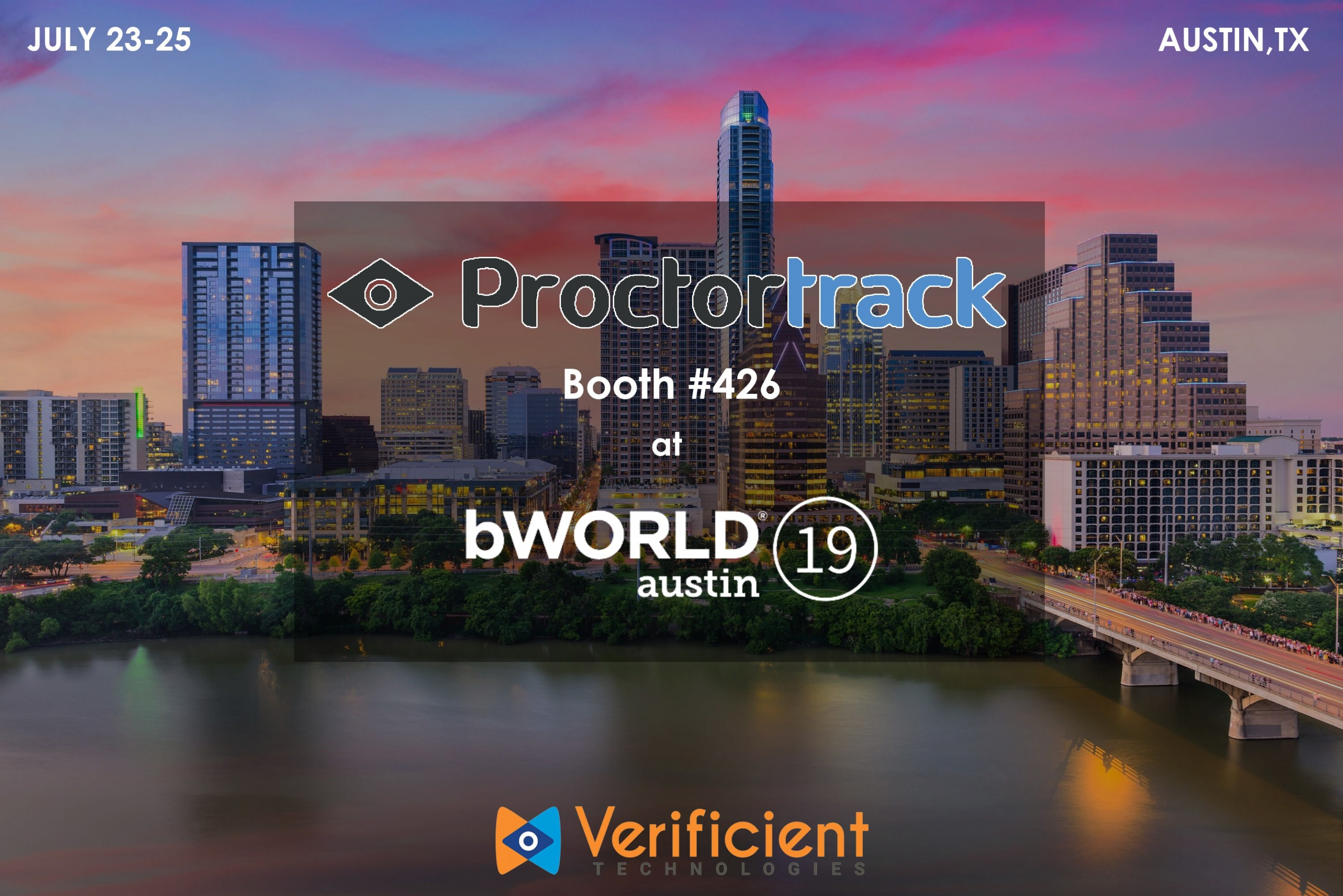 Proctortrack attends BbWORLD 2019