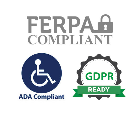 Security Matters: FERPA, ADA, GDPR ready