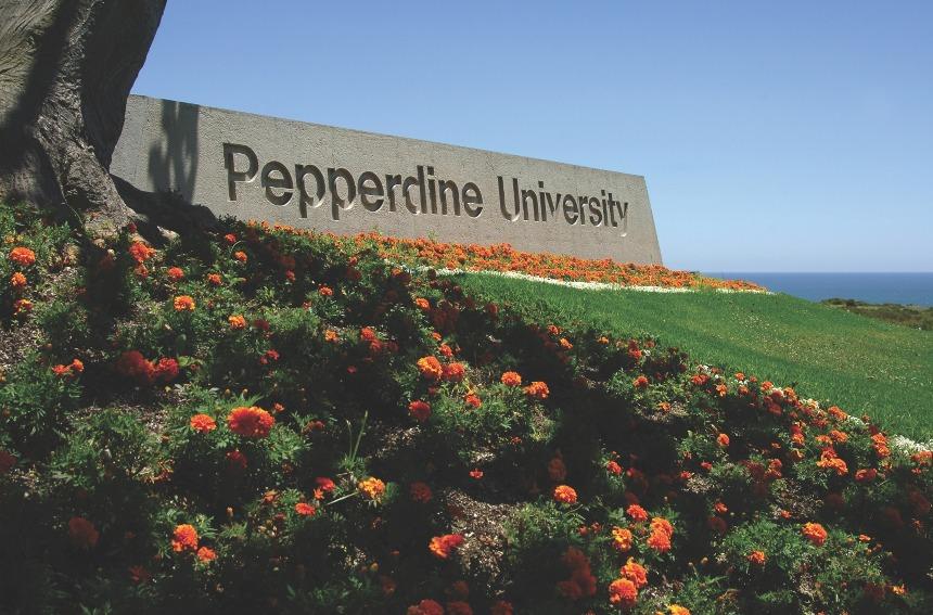 Pepperdine university campus near Malibu, California, proctortrack