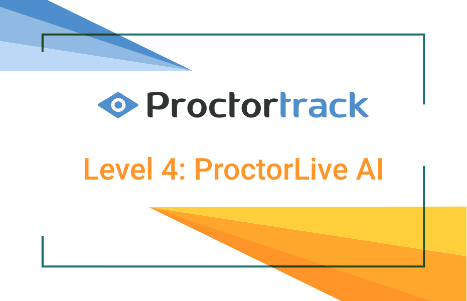 Online Test Proctoring with proctortrack. Live proctoring services with AI enabled