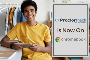Online proctoring just got better! Proctortrack now on Google Chromebooks.