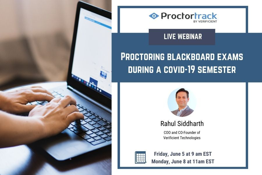 A Blackboard test is a method of assessing student comprehension of course material. Proctortrack is back with yet another webinar: proctoring blackboard exams.