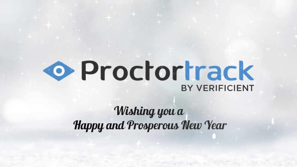 Happy New Year 2021 from Proctortrack