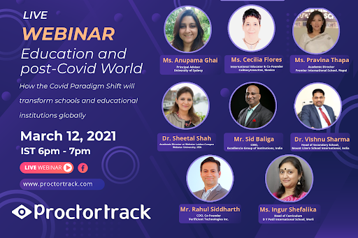 Proctortrack WEBINAR: Education and post-Covid world